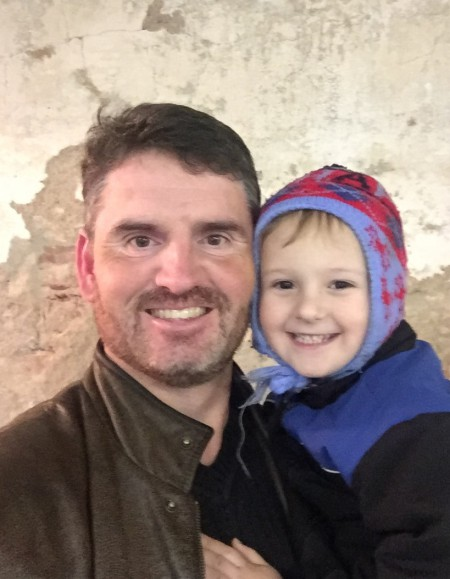 Connor and Daddy